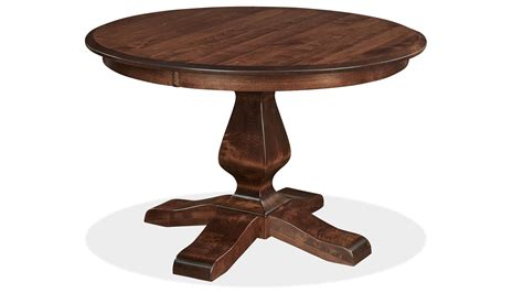 Weston 48 Quot Round Dining Table Gallery Roundtable Or Table