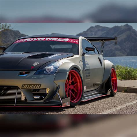 nissan 350z widebody stardast full widebody overfender kit nissan 350z 03 08