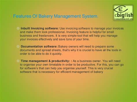 Bakery Manager Needed by Best Bakery Management System