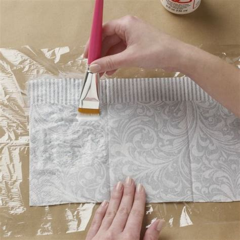 How To Decoupage On Plastic - best 20 decoupage paper ideas on decoupage