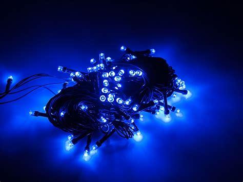 kerstverlichting led blauw feest kerstverlichting blauw 9 4 meter 100 leds 7612