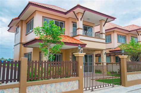 thai houses design colorful 2 story thai house with interior images pinoy house plans