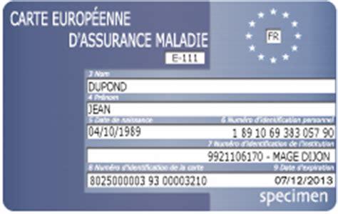 demande de carte europ 233 enne d assurance maladie en ligne