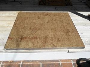 what to put under a fire pit on grass or wooden deck