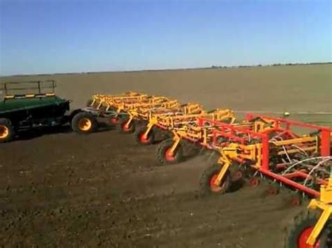 Largest Corn Planter by Zell S 214ft Sowing Rig