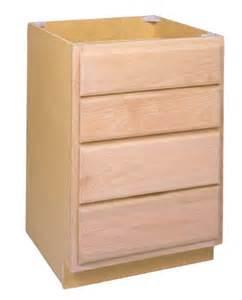 Sutherlands Kitchen Cabinets Zee Mfg Db12oa 12 Quot Unfinished Oak Drawer Base Cabinet At Sutherlands