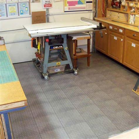 werkstatt bodenbelag home garage flooring snap coin plastic tile