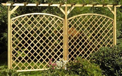 Bastelideen Für Den Garten 2318 by Rankgitter Aus Holz Selber Bauen Bvrao
