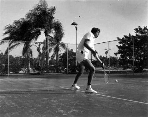 St Petersburg Fl Court Records Florida Memory Tennis Player On The Tennis Court Petersburg Florida
