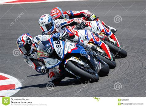 Bmw Motorrad Action Team by Fim Superbike World Chionship Race 2 Editorial Stock