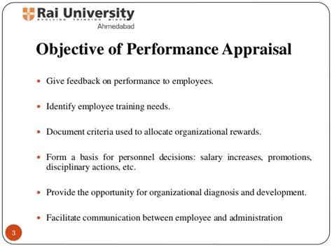performance appraisal an objective look methods of performance appraisal principles of human