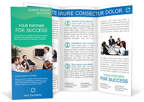 consulting brochure template design id 0000000693