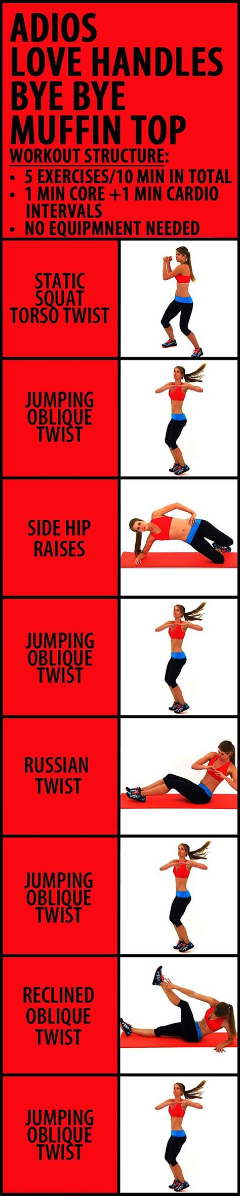 minute adios love handles bye bye muffin top workout