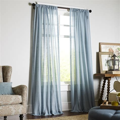 Sheer Blue Curtains 10 Best Sheer Curtains 2018 Pretty Sheer Curtain Panels And Drapes