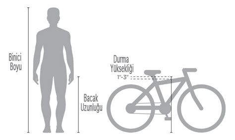 bisiklet kadro boyu secme