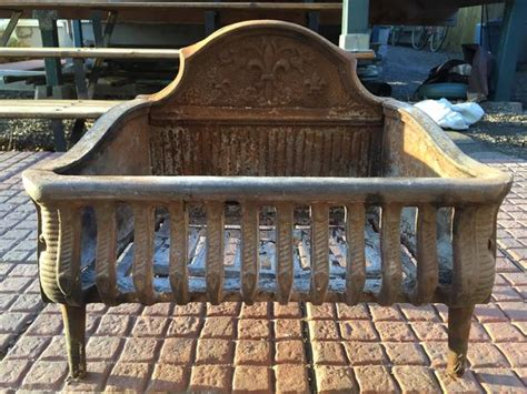 antique fireplace grate east