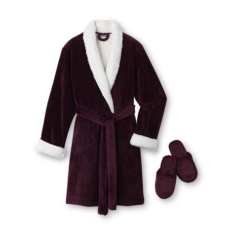 robes and slippers covington s plush robe slippers