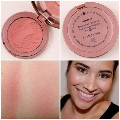 Tarte Amazonian Clay 12 Hours Blush On Charisma tarte amazonian clay 12 hour blush in quot exposed quot makeup ideas hair