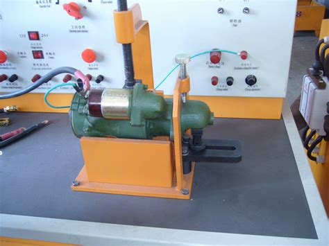 bench testing a starter auto electrical test bench tqd model test generator