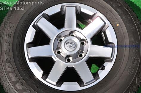 Toyota 4runner Rims 17 Quot Toyota 4runner Trail Edition Oem Factory Wheel Fj