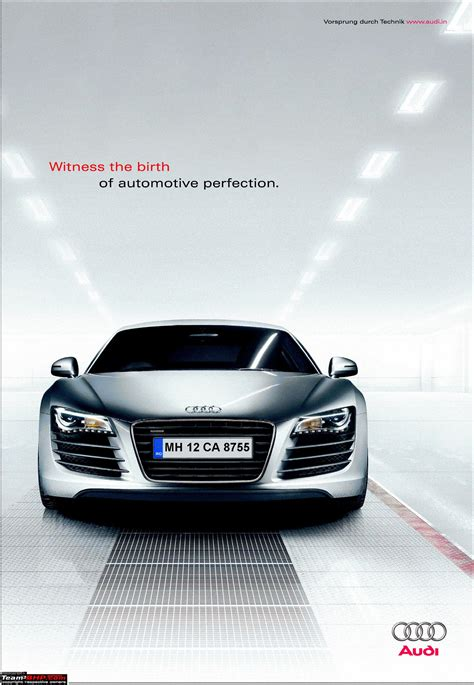 audi r8 ads audi to launch r8 in india edit launch pics on pg 3