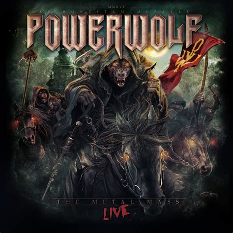 the metal cd review powerwolf quot the metal mass live quot markus heavy
