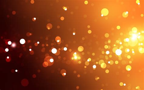 lights bokeh bokeh orange licht hd desktop hintergrund widescreen