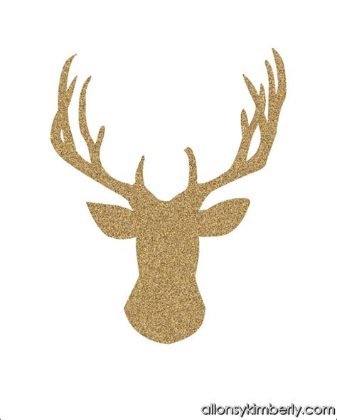 free printable reindeer head 26 best printables templates scottish images on