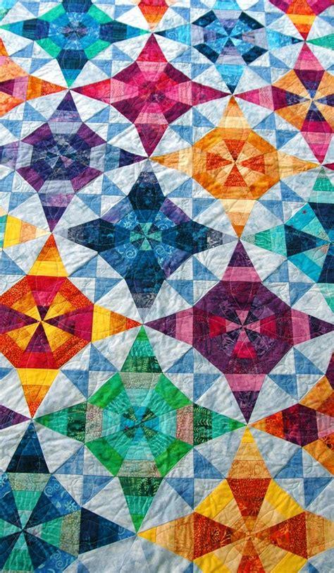 Kaleidoscope Patchwork - the 25 best kaleidoscope quilt ideas on quilt