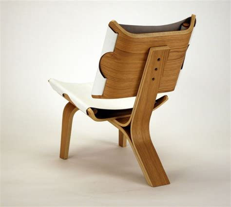 armchair design aesthetically brilliant chair made of bent plywood and