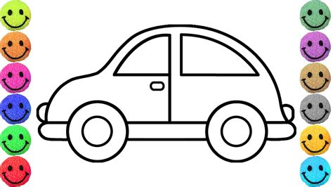 kid car drawing cars drawing for kids simple exle car coloring pages
