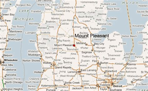 mt pleasant map mount pleasant mi pictures posters news and on
