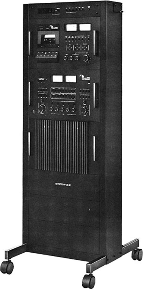 System One Rack by Nakamichi System One Rack Manual Audio System Rack