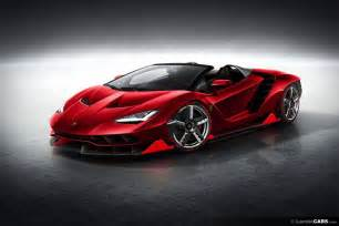 Lamborghini Roadster This Is What Lamborghini Centenario Roadster Should Look Like