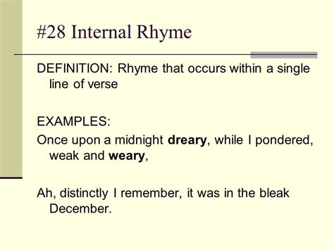 exle of rhyme tone definition it is the attitude a writer takes toward a subject ppt
