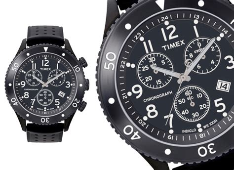 Expedition E6731mc Chronograph Black List Stainles timex watches