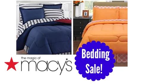 macy bedding sale macy s deal reversible bedding sets 37 99 southern savers