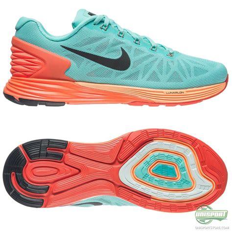 nike running shoe lunarglide 6 turquoise orange