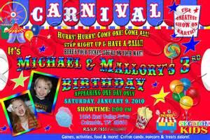 fanci prints by carnival invitation