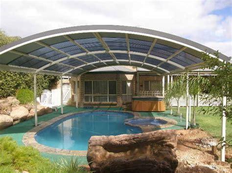 Outdoor Inspiration Pergolas Pergolas Aluminium Curved Roof Pergola