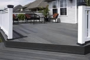 composite patio all access fence fabrication composite decks