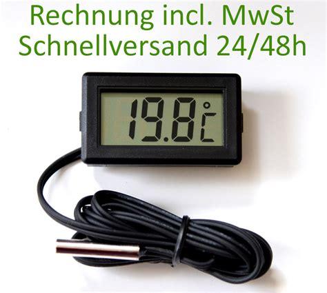 Motorrad Batterie Falsch Geladen by Thermometer Digital Lcd 40 176 110 176 C Temperatur Anzeige