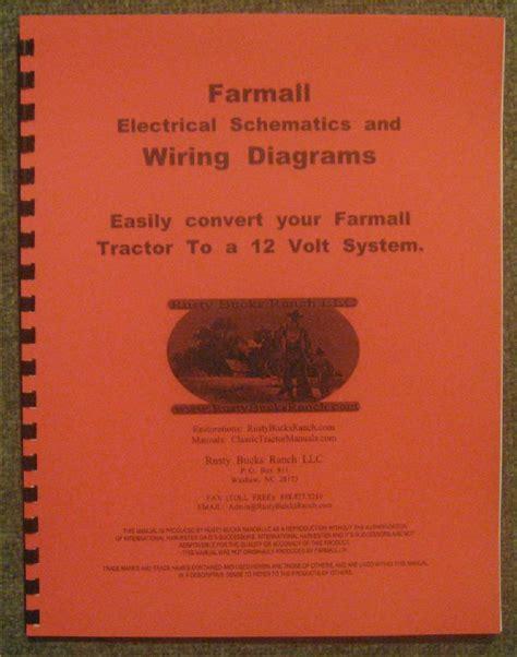 farmall 12 volt conversion wiring diagrams schematics a
