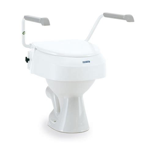 toilettenaufsatz bidet invacare toilettensitzerh 246 hung aquatec 900 mit armlehnen