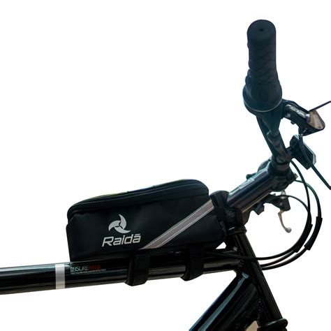 Bicycle Storage Bag Black bike frame bag