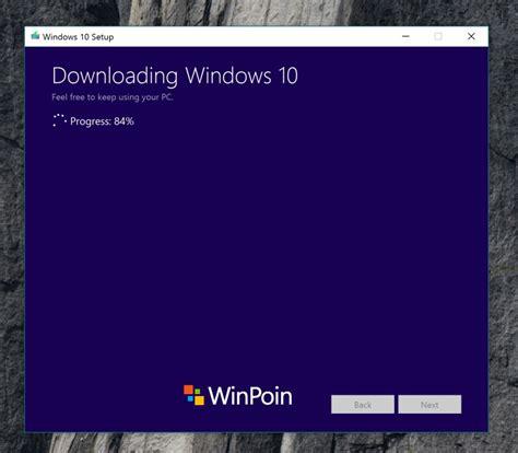 install windows 10 update cara install windows 10 creators update dengan media