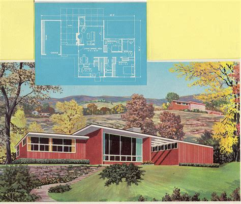 50s modern home design homes and plans of the 1940 s 50 s 60 s and 70 s