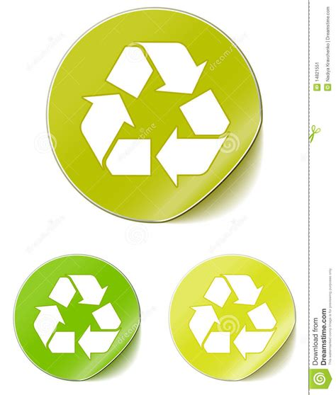 Free Recycle Stickers