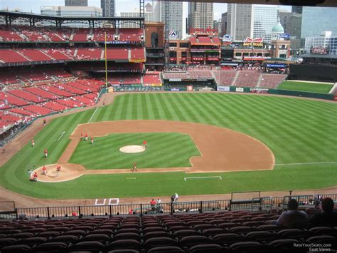 section 245i busch stadium section 245 rateyourseats com