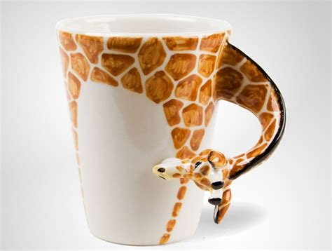 Handmade Coffee - giraffe handmade coffee mug